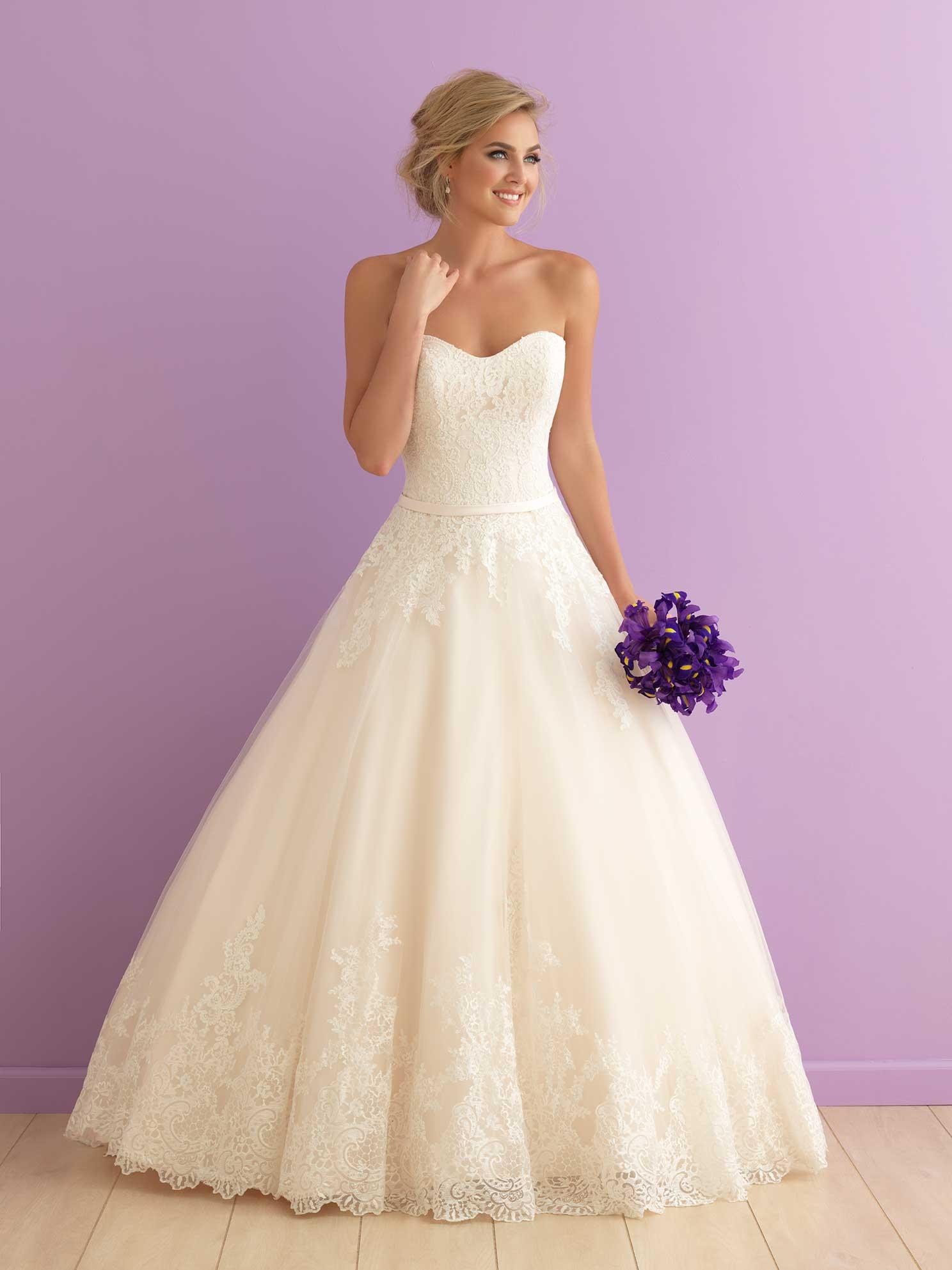 5187489a93 Svadobné šaty   ALLURE ROMANCE 2902