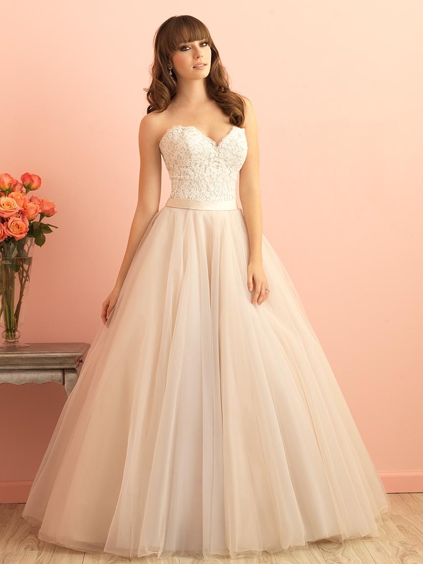 597172ef23f4 Svadobné šaty   ALLURE ROMANCE 2853