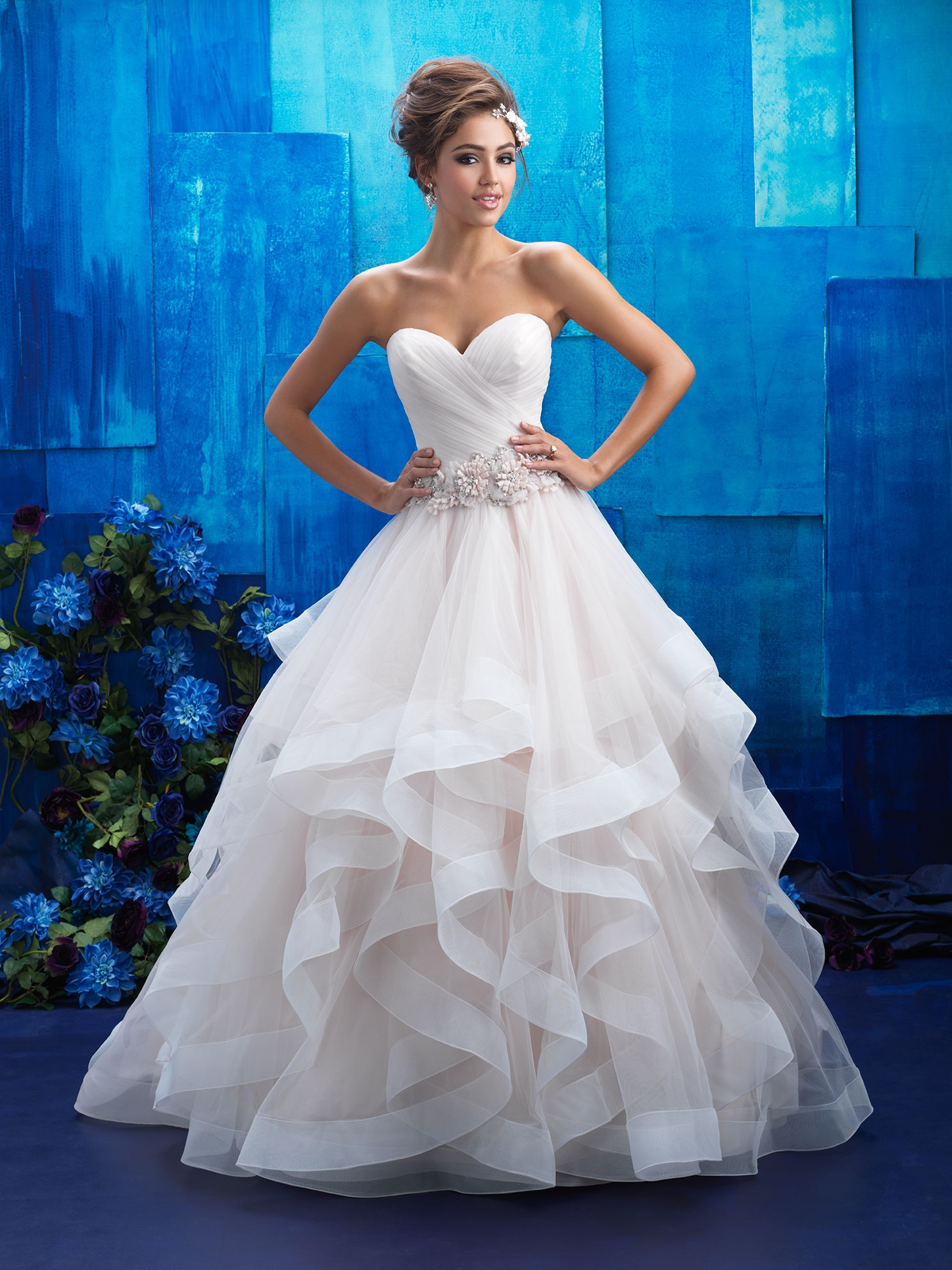 04ff537940 Svadobné šaty   ALLURE BRIDALS 9408