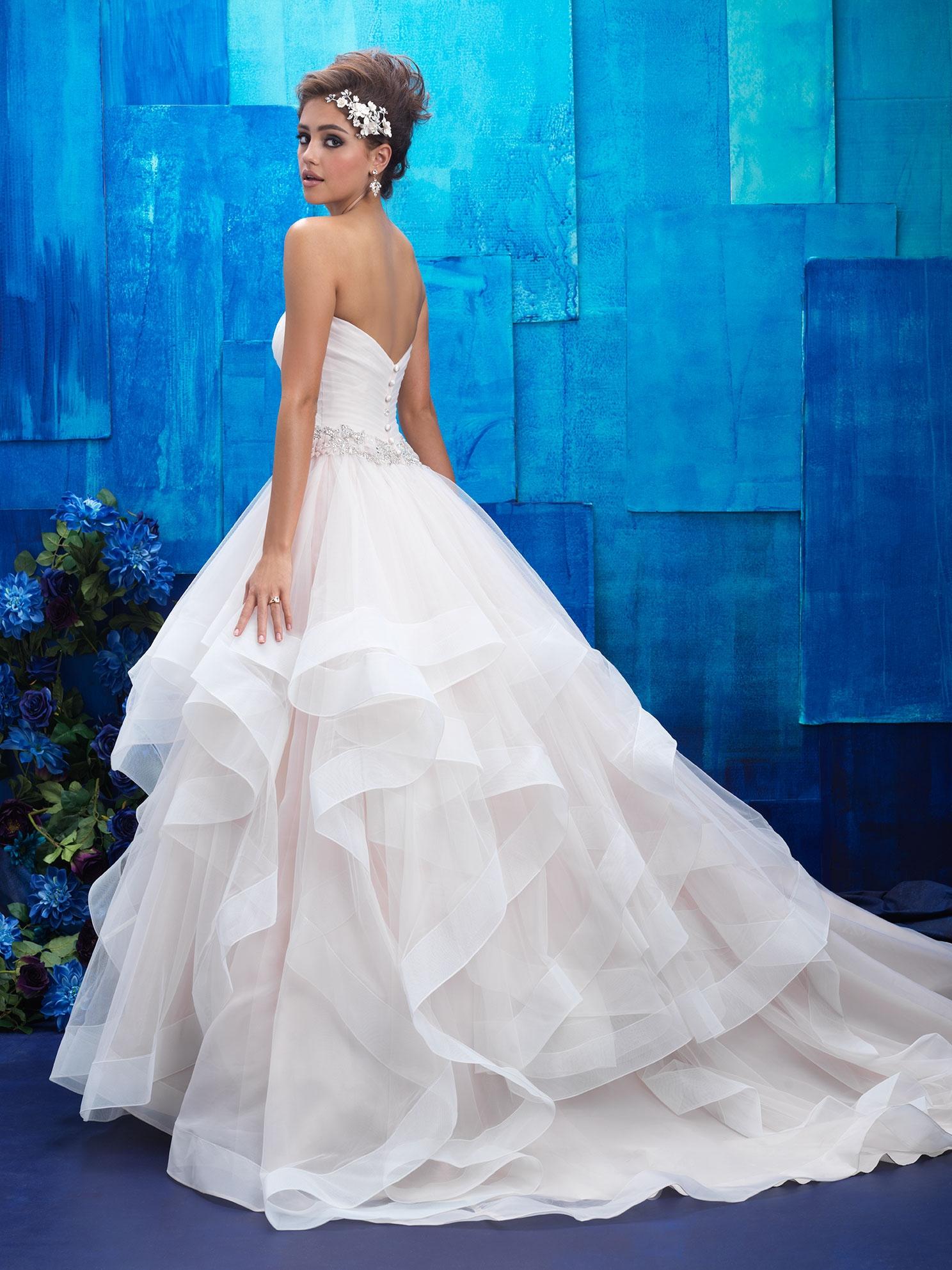 Svadobné šaty   ALLURE BRIDALS 9408 126d4744fd9
