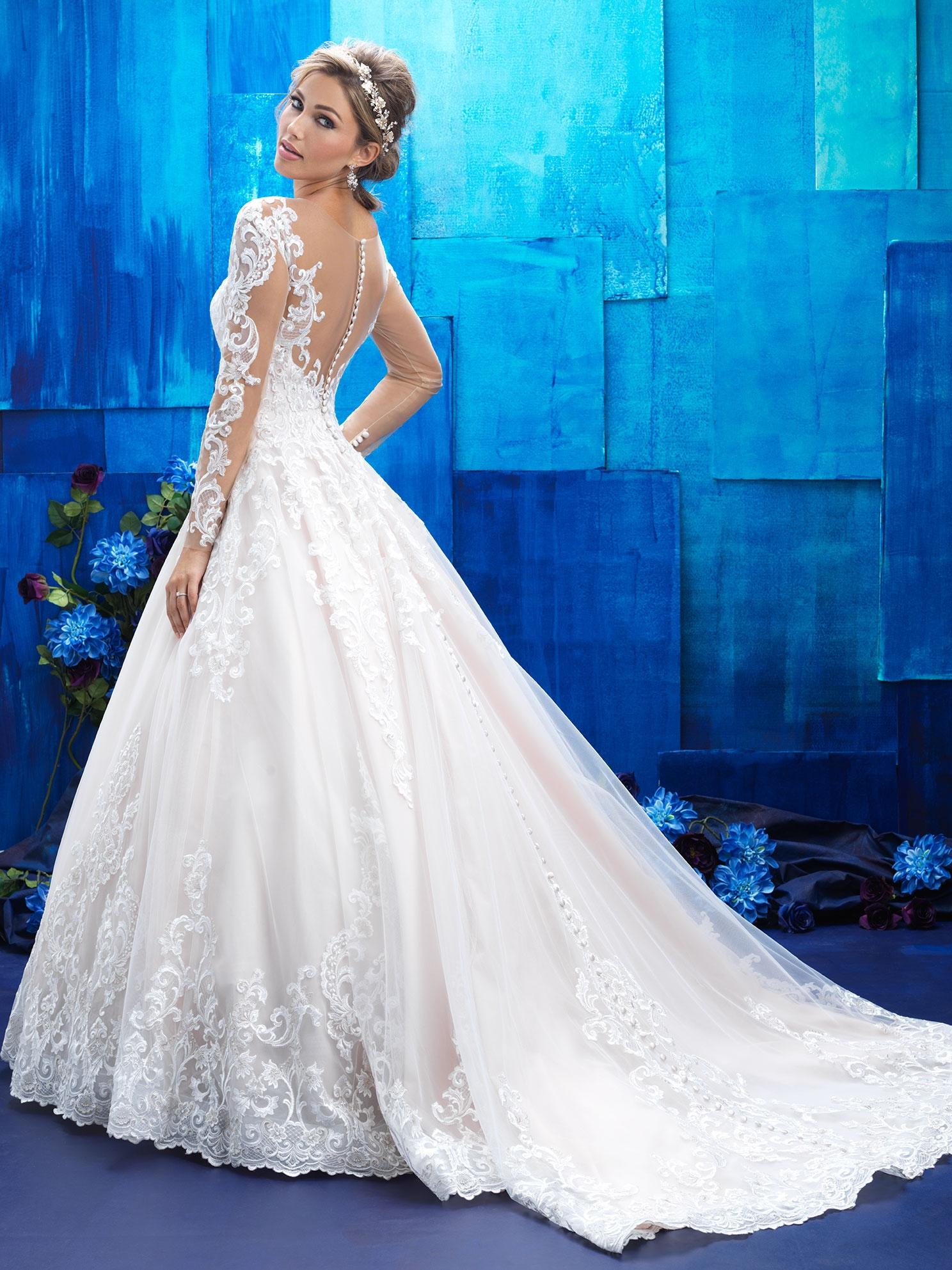 01bbd46bf2 Svadobné šaty   ALLURE BRIDALS 9411