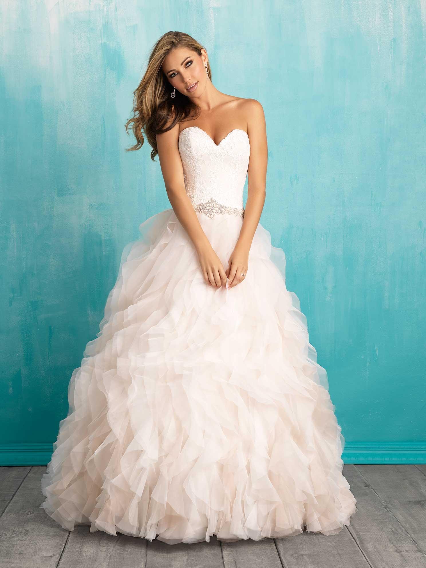 8b637b8338 Svadobné šaty   ALLURE BRIDALS 9308