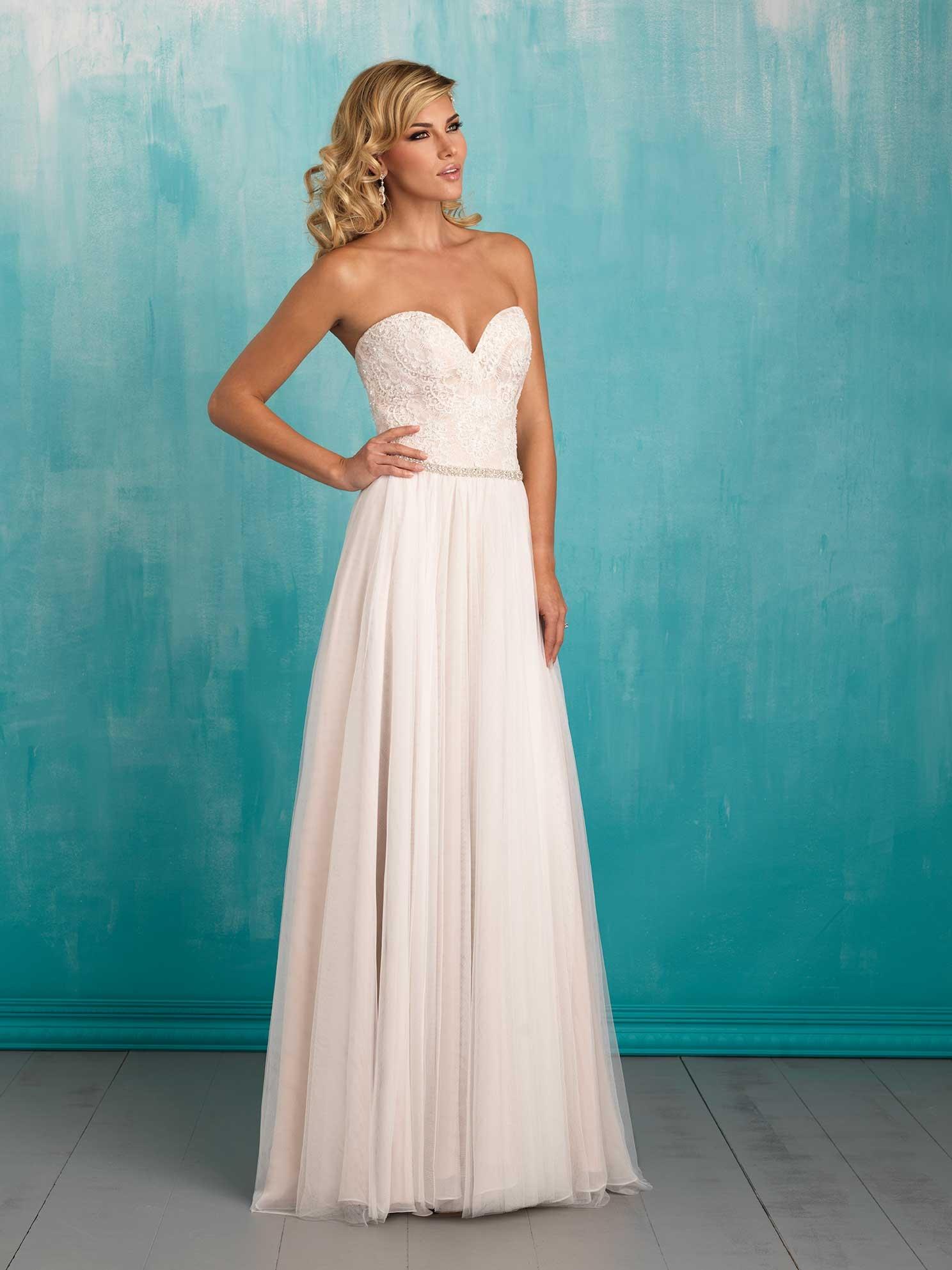 5254c859b6 Svadobné šaty   ALLURE BRIDALS 9324