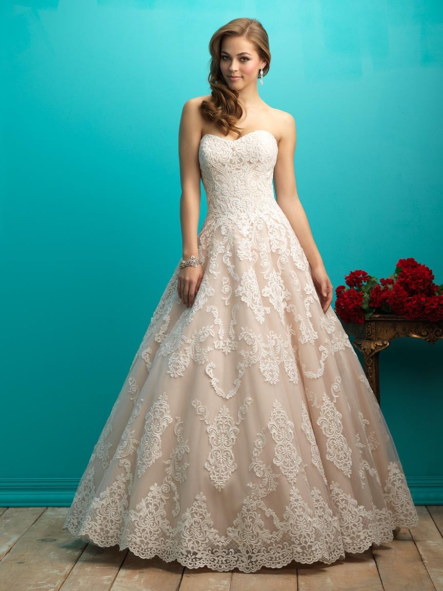 9806016894 Svadobné šaty   ALLURE BRIDALS 9268