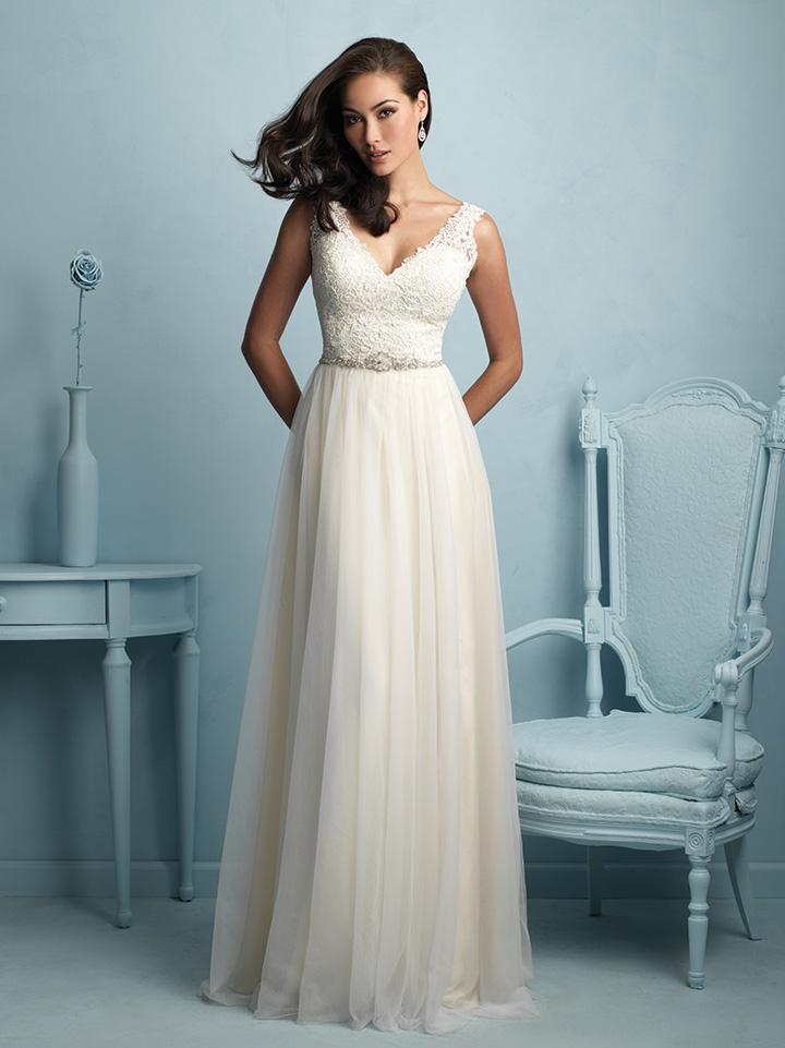 7d399a9a853a Svadobné šaty   ALLURE BRIDALS 9205