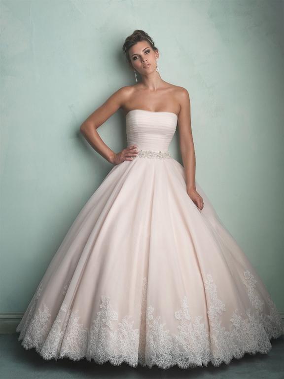 Svadobné šaty   ALLURE BRIDALS 9168 e774d3186a9